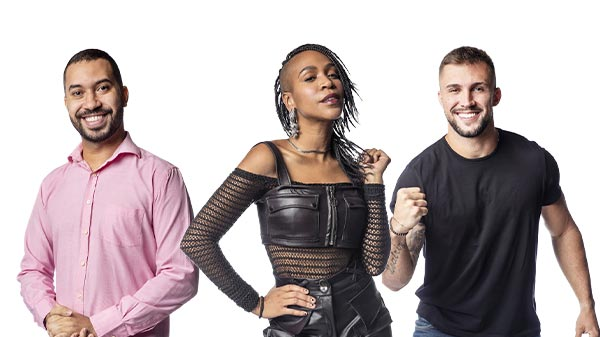 karol conká gilberto e arthur no paredão do bbb21