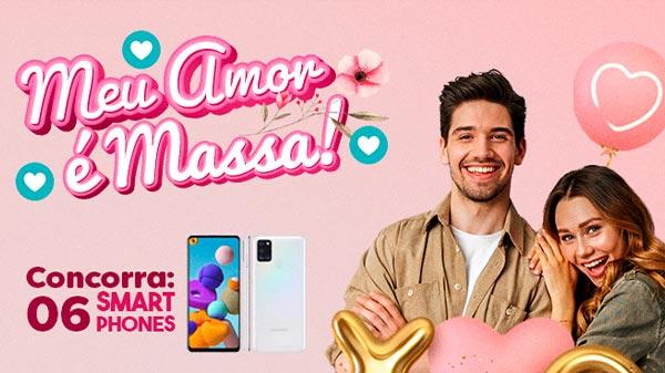 banner promoção meu amor é massa